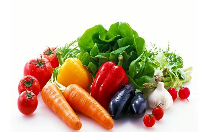 Vitamin trong rau củ và trái cây có hàm lượng cao
