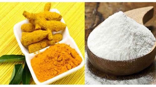 Kết hợp bột nghệ và bột gạo để tăng hiệu quả