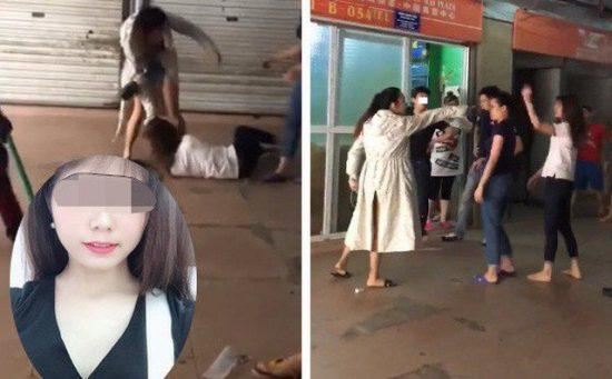 Chị Lê Thị K. bị đánh vào chiều 29/5.