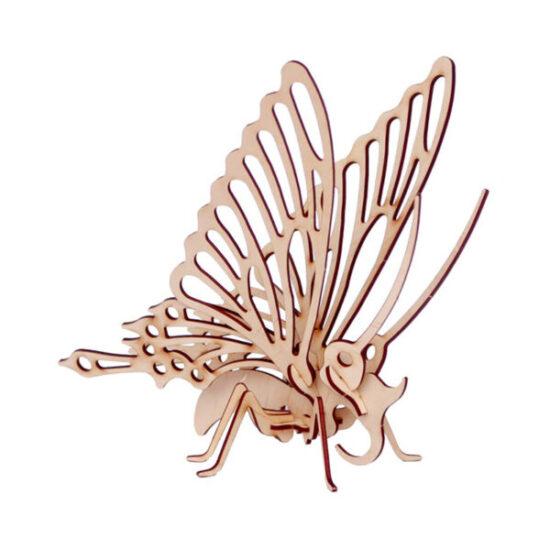 Mô hình lắp ráp bươm bướm gỗ