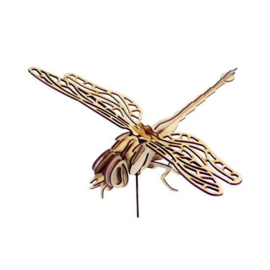Bộ lắp ghép mô hình gỗ – Hình chuồn chuồn