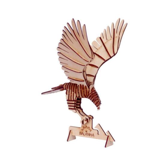 Bộ lắp ghép mô hình gỗ – Hình đại bàng