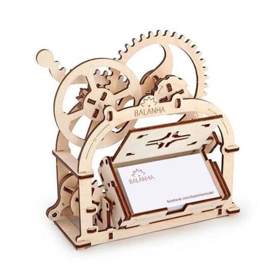 Bộ lắp ghép mô hình gỗ – Hình hộp cơ khí