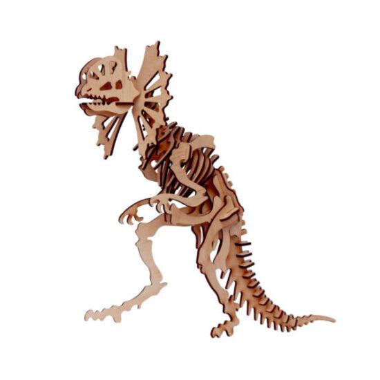 Mô hình lắp ráp khủng long gỗ